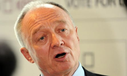 London Mayor Ken Livingstone launches his bid to be elected for a third term at the Royal Festival Hall