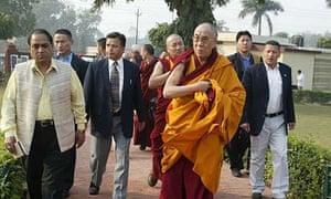 The Tibetan spiritual leader, the Dalai Lama