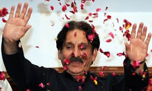 Ex-chief justice Iftikhar Muhammad Chaudhry after his release from house arrest