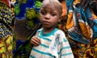 A boy in a displaced peoples' camp, Congo
