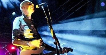 Billy Corgan, lead singer of the Smashing Pumpkins
