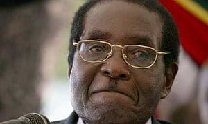 Robert Mugabe speaks in Harare