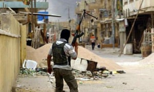 A Shia gunman in Basra