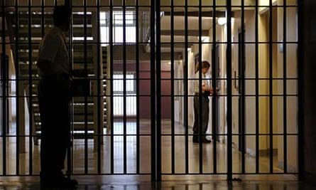 Women's wing at Peterborough Prison.