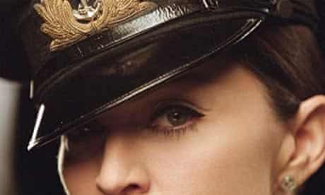 Madonna shown in publicity photo from her American Life video