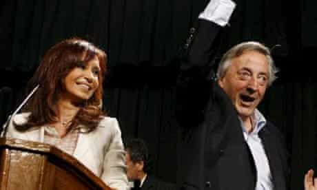 Cristina and Nestor Kirchner