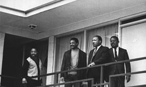 Jesse Jackson with Martin Luther King in Memphis in 1968