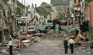 Aftermath of the Omagh bombing