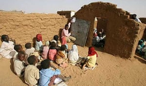Refugee camp in Sudan