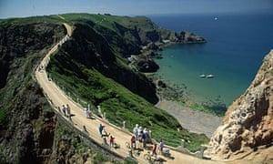 Sark, Guernsey.