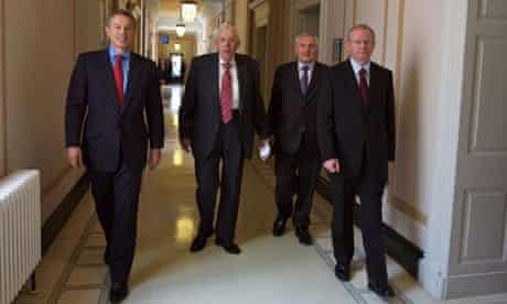Good Friday agreement at Stormont Castle