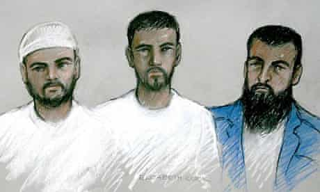 Mohammed Shakil, Waheed Ali and Sadeer Saleem