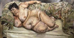 Lucien Freud's 'Benefits Supervisor Sleeping'