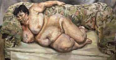 Lucien Freud's 'Benefits Supervisor Sleeping'