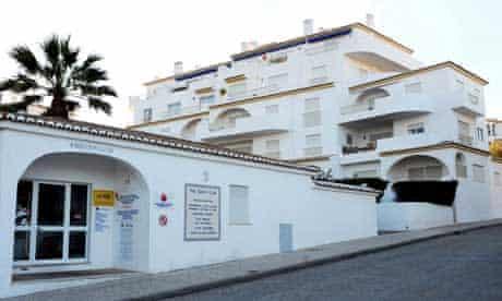 The Ocean Club in Praia da Luz where Madeleine McCann was staying