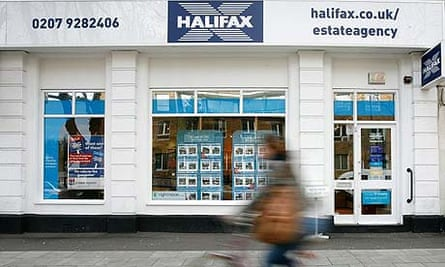 A branch of Halifax estate agents