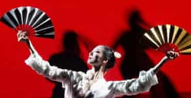 A scene from Madame Butterfly