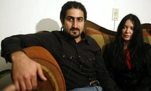 Omar bin Laden and his British wife, Zaina al Sabah bin Laden, pictured during an interview in Cairo