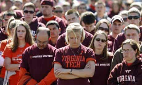students mark first anniversary of virginia tech shootings
