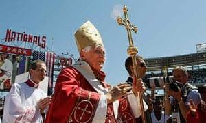 Pope Benedict XVI at Nationals Park