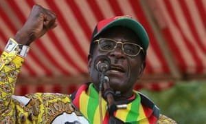 Mugabe claimed Zimbabweans are 'being bought like livestock'