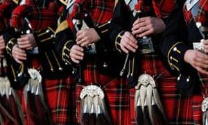 The Royal Scots Dragoon Guards Pipe Band