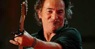 Bruce Springsteen performs with the E Street Band in Asbury Park, New Jersey