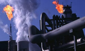 Oil refinery, Kharg Island