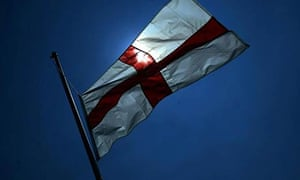 A St George's flag.