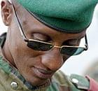 Tutsi general Laurent Nkunda stands in his mountain near Goma