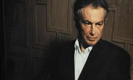portrait of Tony Blair