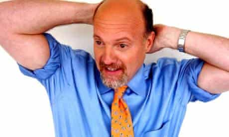 Celebrity stock picker Jim Cramer. Photograph: Lisa Carpenter