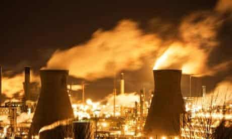 Grangemouth oil refinery