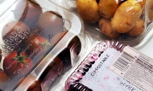 Plastic containers from Marks & Spencer