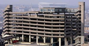The Trinity Square multi-storey car park at Gateshead