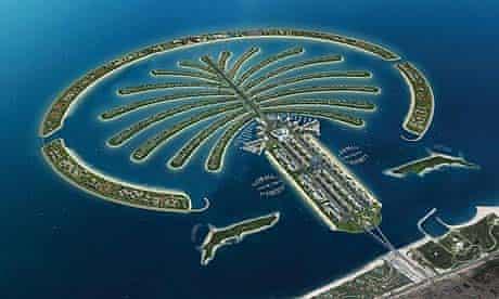 The Palm Jumeirah, in Dubai
