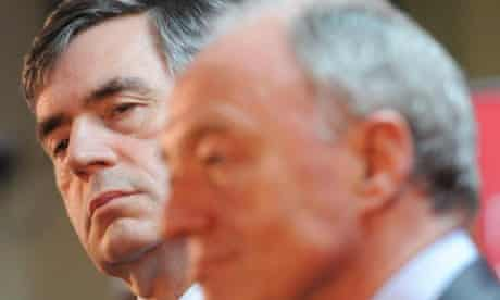 Gordon Brown and Ken Livingstone