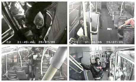 Anthony Joseph, who suffered from paranoid schizophrenia, on board the number 43 bus in north London, shortly before he stabbed Richard Whelan seven times after throwing chips at his girlfriend.