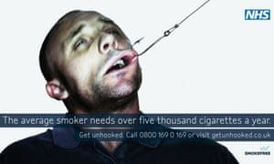 A Department of Health anti-smoking advertisement