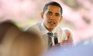 Barack Obama in Indianapolis