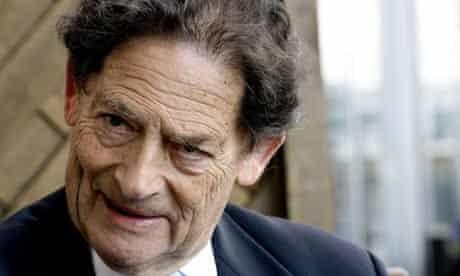 Former chancellor Nigel Lawson