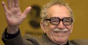 Colombian writer Gabriel Garcia Marquez