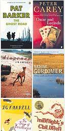Booker prize-winning books