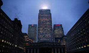 One Canada Square at Canary Wharf