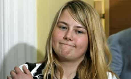 Natascha Kampusch, who was held in an Austrian cellar for eight years