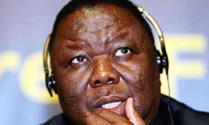 Morgan Tsvangirai at the Liberal International Congress in Belfast