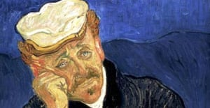 The portrait of Dr Paul Gachet, presumed to be by Vincent van Gogh