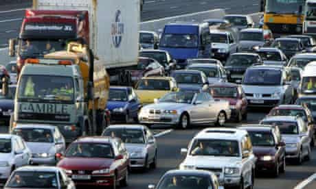 Traffic jams are anticipated this weekend