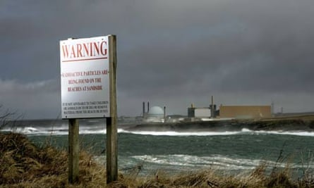 Dounreay nuclear reactor