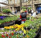 Skipton High Street in North Yorkshire, that has been shortlisted as Street of the Year alongside streets in London
